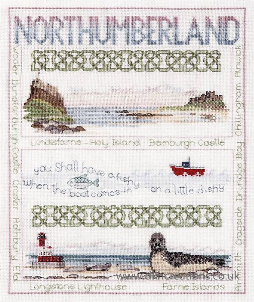Northumberland Cross Stitch Kit